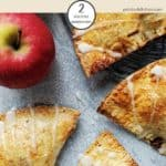 A table of apple turnovers