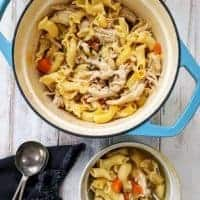 Hearty Chicken Noodle Soup | Weight Watchers