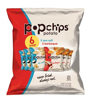 A selection of popchips