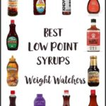 Bottles of Low Smart Point pancake syrups
