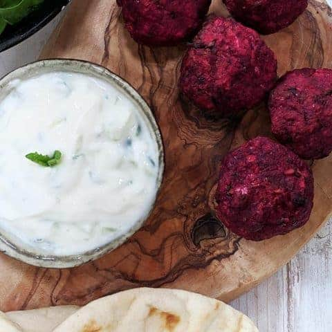 Beetroot Falafel | Weight Watchers