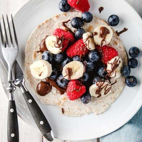 Berry Breakfast Taco | Weight Watchers