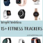 Pictures of some of the best fitness trackers for weight watchers