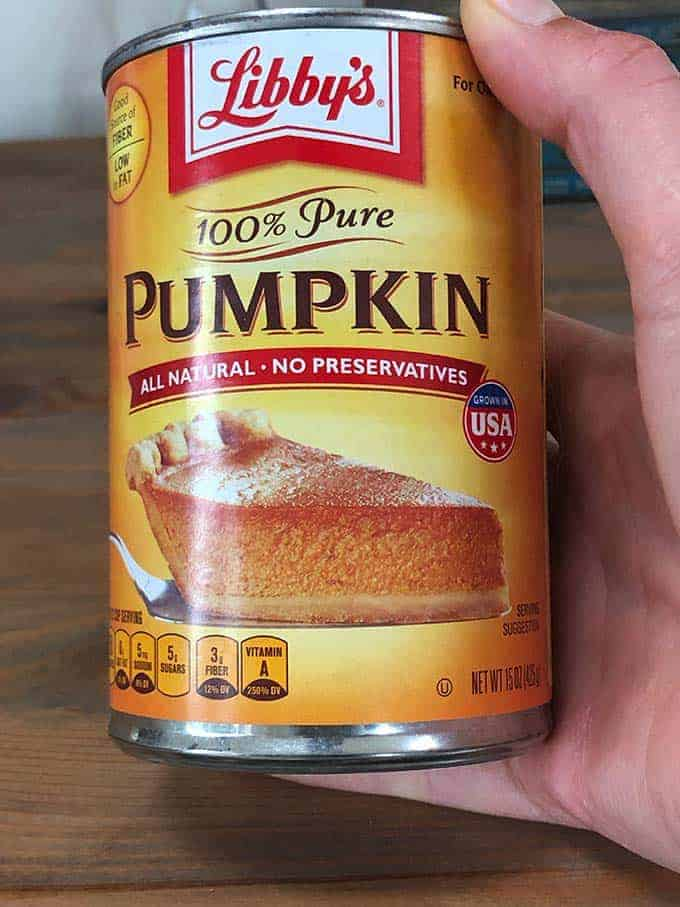 A can of Libby's Pumpkin