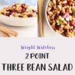 Picture of 3 bean salad in a bowl