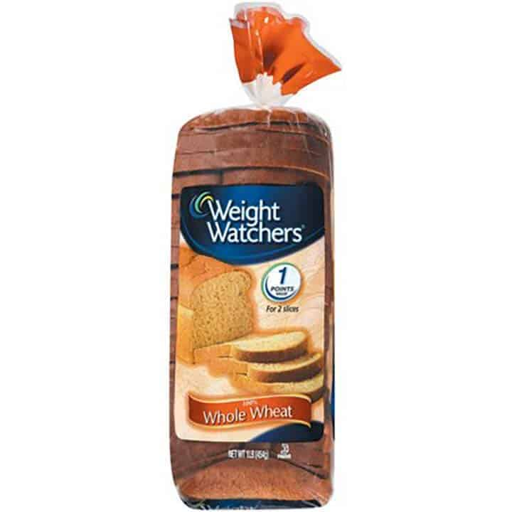 A loaf of WW Whole Wheat Bread