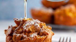 Pumpkin Spiced French Toast Muffins | Weight Watchers