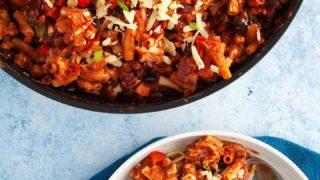 Turkey Chili Mac & Cheese |Weight Watchers