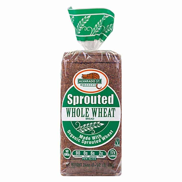 A loaf of Alvardo St Bakery Sprouted Whole Wheat Bread