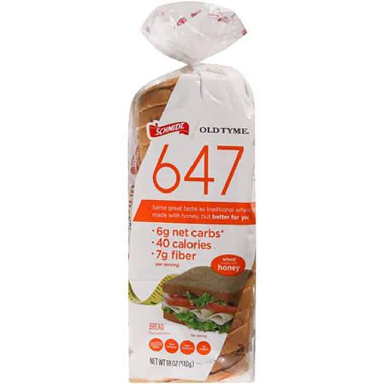 A loaf of Schmidt 647 honey bread