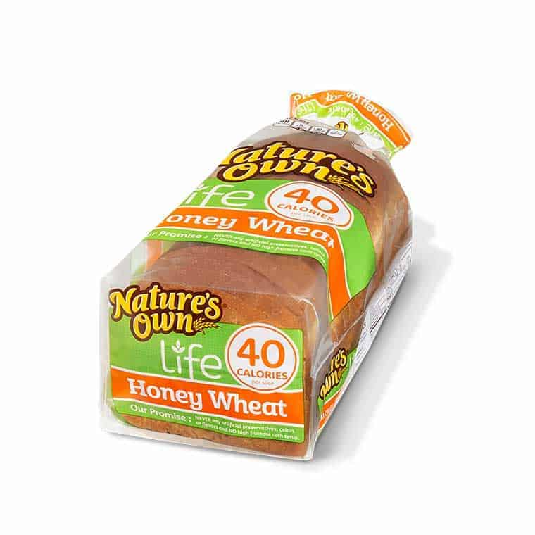 A loaf of Nature's own life Honey Wheat Bread