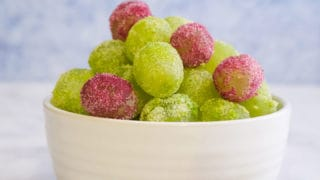 Jello Grapes | Weight Watchers