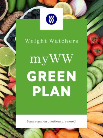 The Weight Watchers Green Plan